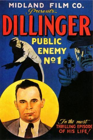Dillinger: el enemigo público número 1 Lámina maestra