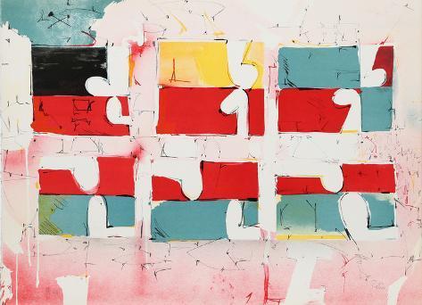 Untitled - Six Rectangles Rajoitettu erä