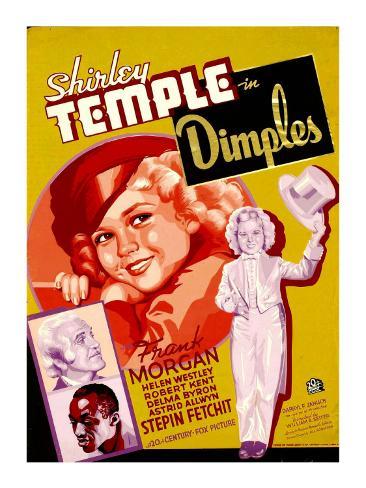 Dimples, 1936 Fotografía