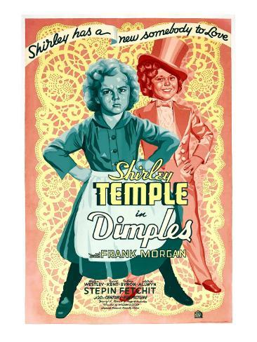 Dimples, Shirley Temple, 1936 Stretched Canvas Print