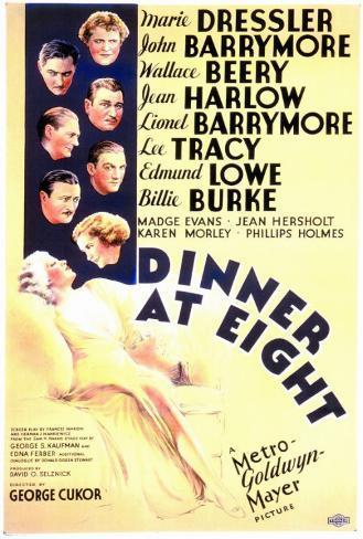 Dinner at Eight Masterprint