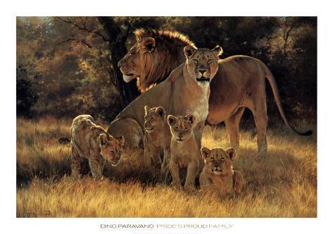 Pride's Proud Family Art Print