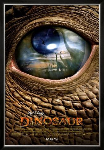 Dinosaur Framed Poster