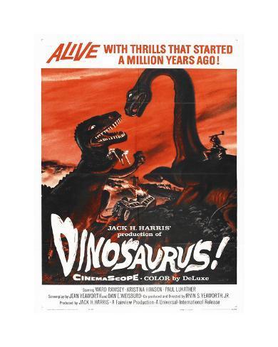 Dinosaurus Giclee Print