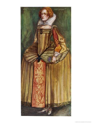 Her Farthingale May be the Height of Fashion Giclee Print