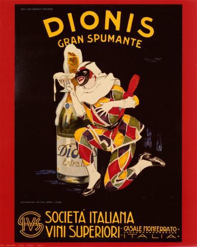 Dionis Gran Spumante Poster