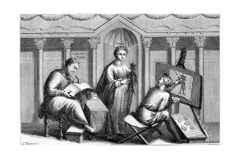 Dioscorides, Mandrake Stampa giclée
