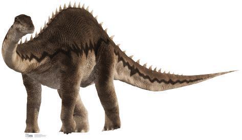 Diplodocus Cardboard Cutouts