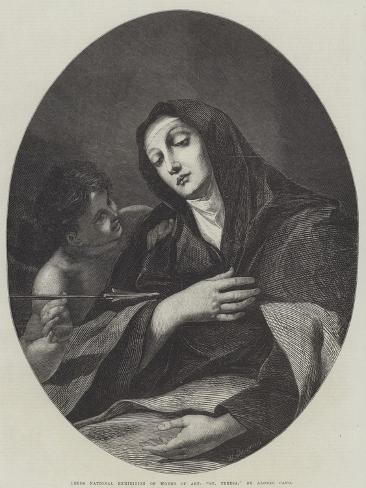 St Teresa Lámina giclée