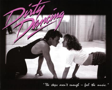 Dirty Dancing Movie Patrick Swayze Dancing Jennifer Grey 80s ...
