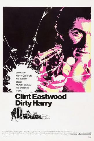 Dirty Harry, 1971 Lámina giclée