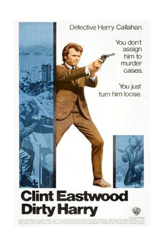 Dirty Harry, 1971 Stampa giclée