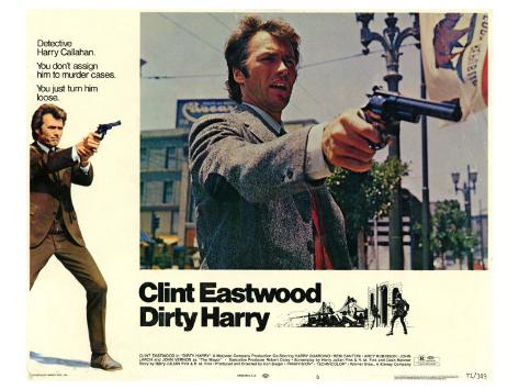 Dirty Harry, 1971 Stretched Canvas Print
