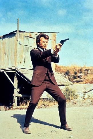 Dirty Harry, Clint Eastwood, 1971 写真