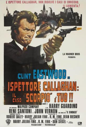Dirty Harry - Italian Style Poster