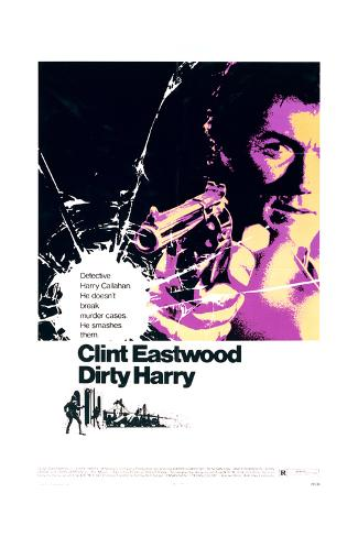 Dirty Harry - Movie Poster Reproduction Art Print