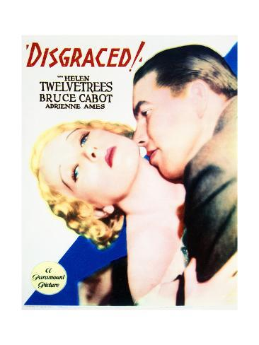 Disgraced! - Movie Poster Reproduction Art Print