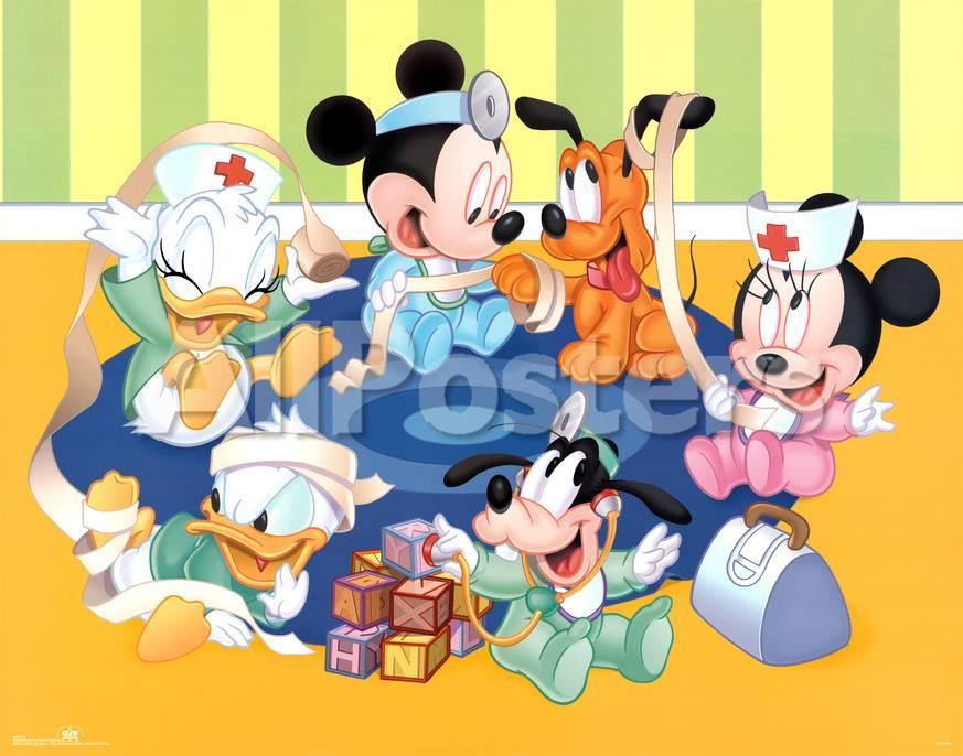 Disney Babies Kid Doctors Póster en AllPosters.es
