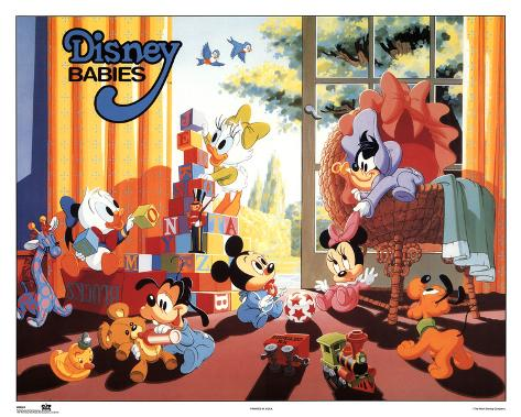 Disney Babies Play Room Poster