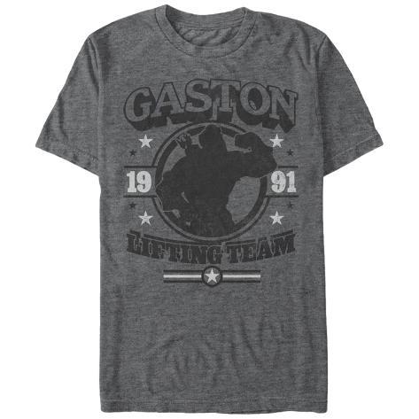 Disney: Beauty & The Beast- Gaston Lifting Team T-Shirt
