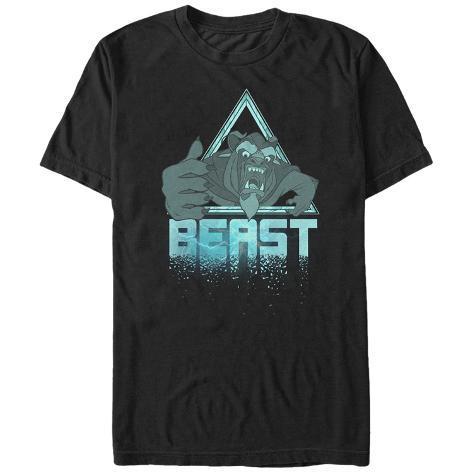 Disney: Beauty & The Beast- Roaring Beast Icon Camiseta