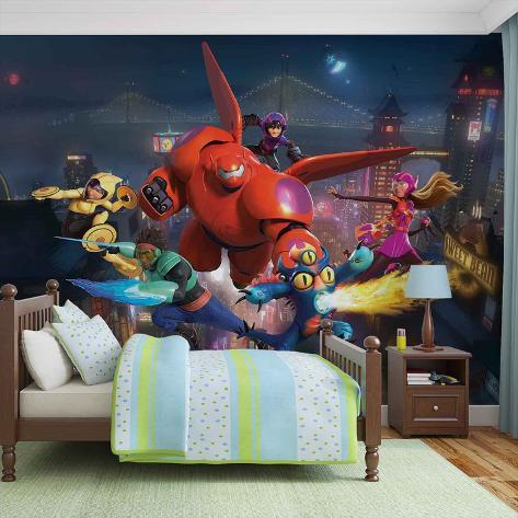 Disney Big Hero 6 - Vlies Non-Woven Mural Vlies Wallpaper Mural
