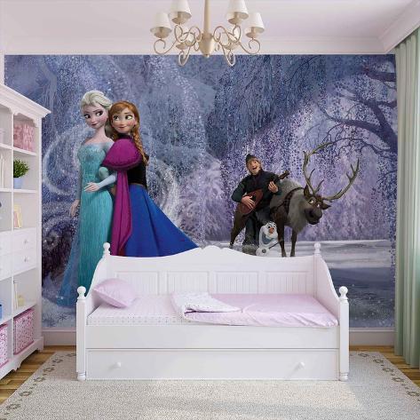 Disney Frozen - Elsa and Anna - Vlies Non-Woven Mural Vlies Wallpaper Mural