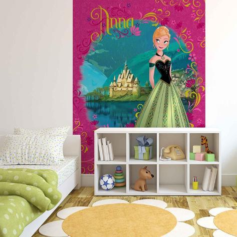 Disney Frozen Fever - Princess Anna - Vlies Non-Woven Mural Vlies Wallpaper Mural