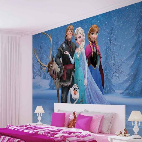 Disney Frozen - Group - Vlies Non-Woven Mural Vlies Wallpaper Mural