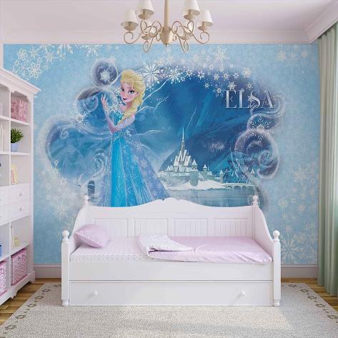 Disney Frozen - Queen Elsa - Vlies Non-Woven Mural Vlies Wallpaper Mural