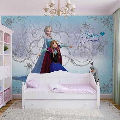 Disney Frozen - Sisters Forever - Vlies Non-Woven Mural Vlies Wallpaper Mural