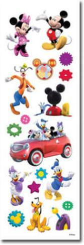 Disney Mickey Mouse Clubhouse Package of Clear Stickers Stickers