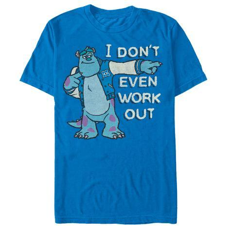 Disney: Monsers University- I Don't Even Work Out Camiseta