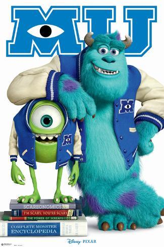 Disney Monsters University Poster