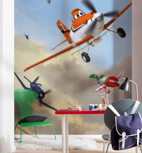 Disney Planes - Dusty and Friends Carta da parati decorativa
