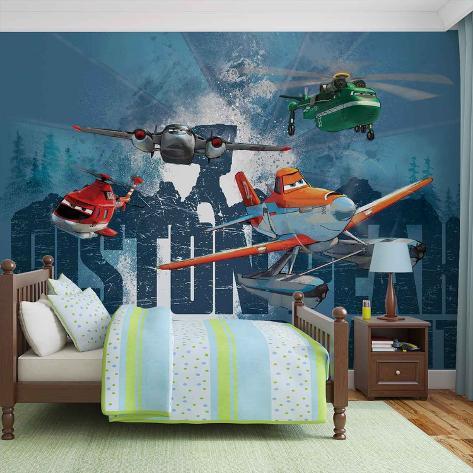 Disney Planes - Dusty Blade Windlifter - Vlies Non-Woven Mural Carta da parati decorativa