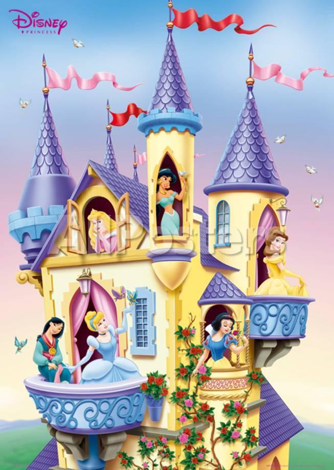 Disney Princess- Castle Prints - at AllPosters.com.au