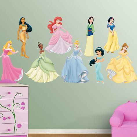 Disney Princess Collection Wall Decal