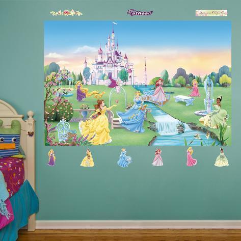 Disney Princess Mural Part 29