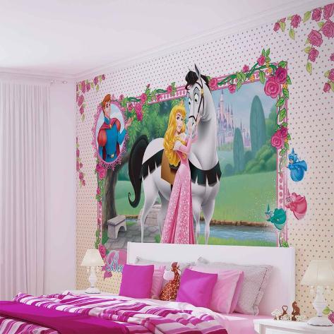 Disney Sleeping Beauty - Aurora Beautiful Dreams - Vlies Non-Woven Mural Bildtapet