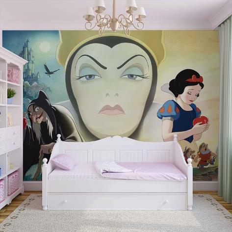 Disney Snow White - Evil Queen - Vlies Non-Woven Mural Vlies Wallpaper Mural