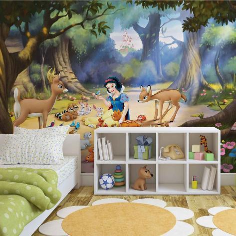 Disney Snow White - Forest Friends - Vlies Non-Woven Mural Vlies Wallpaper Mural