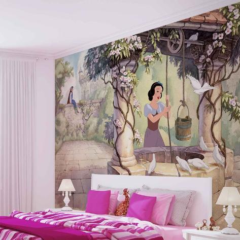 Disney Snow White - Singing at the Well - Vlies Non-Woven Mural Vlies Wallpaper Mural