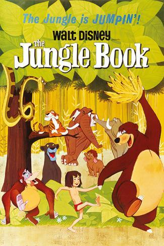 Disney: The Jungle Book- Animated Party Poster