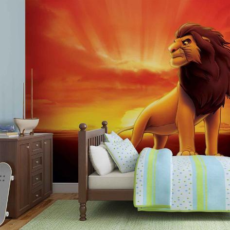 Disney The Lion King - Sunrise - Vlies Non-Woven Mural Vlies Wallpaper Mural