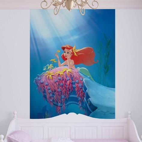 Disney The Little Mermaid - Ariel - Vlies Non-Woven Mural Vlies Wallpaper Mural
