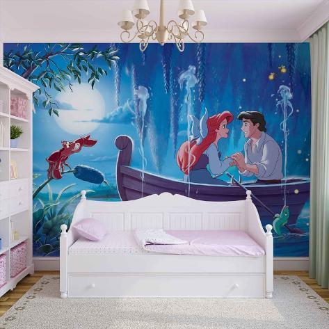 Disney The Little Mermaid - Kiss the Girl - Vlies Non-Woven Mural Vlies Wallpaper Mural