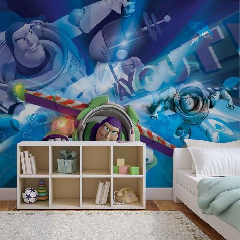 Disney Toy Story - Buzz Lightyear - Vlies Non-Woven Mural Carta da parati decorativa