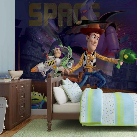 Disney Toy Story - Woody and Buzz in Space - Vlies Non-Woven Mural Carta da parati decorativa