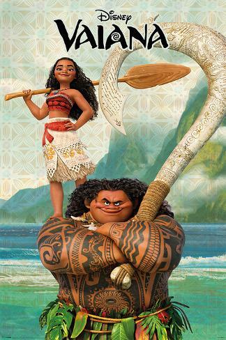 Disney: Vaiana- Navigator & Warrior Poster